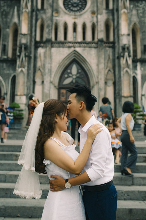 Ảnh cưới quanh Hà Nội của cặp được bạn thân se duyên - 2