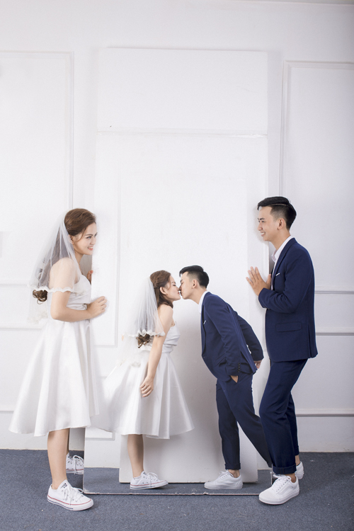 Ảnh cưới quanh Hà Nội của cặp được bạn thân se duyên - 10