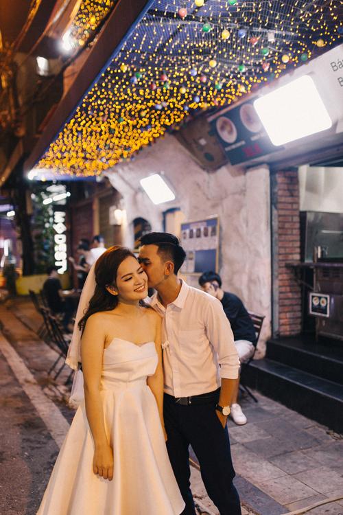Ảnh cưới quanh Hà Nội của cặp được bạn thân se duyên - 4