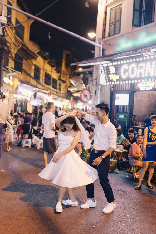 Ảnh cưới quanh Hà Nội của cặp được bạn thân se duyên - 6