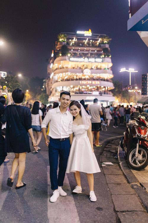 Ảnh cưới quanh Hà Nội của cặp được bạn thân se duyên - 7