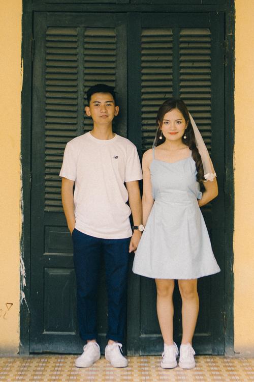 Ảnh cưới quanh Hà Nội của cặp được bạn thân se duyên - 8