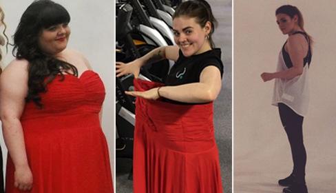 Giảm 50 kg, cô nàng béo ú trở thành huấn luyện viên thể hình