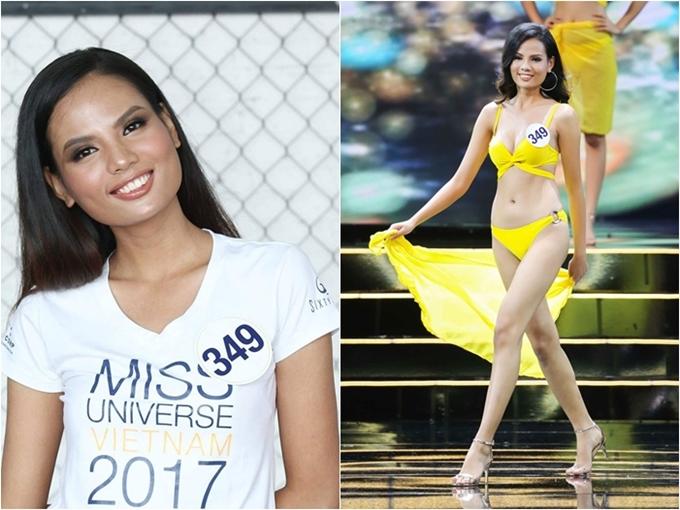 Ngọc Linh bất ngờ trở lại và thử sức ở Hoa hậu Hoàn vũ Việt Nam 2017. Sở hữu nhan sắc hiện đại, vốn ngoại ngữ lưu loát, Ngọc Linh lọt đến top 5 của cuộc thi.
