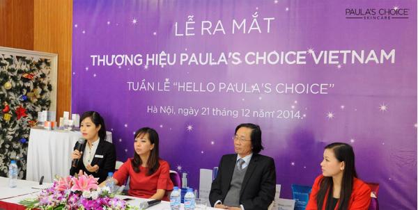 Nhà sáng lập thương hiệu Paulas Choice Skincare đến Việt Nam