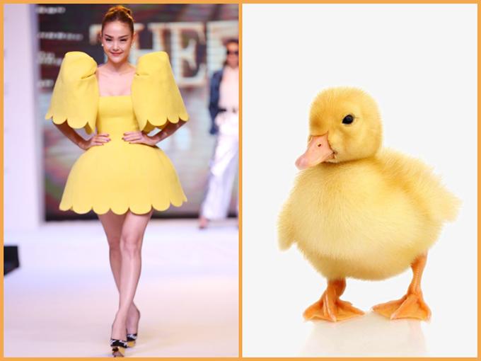 Lần đầu góp mặt tại chương trình người mẫu, vấn đề ăn mặc của ca sĩ Minh Hằng luôn giành được sự quan tâm của khán giả.