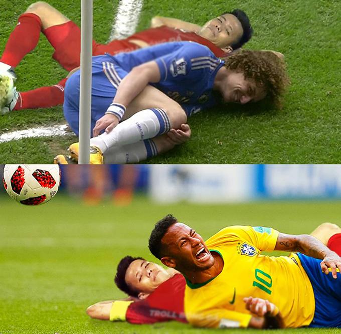 Văn Quyết được ví như các chuyên gia đóng kịch như David Luiz, Neymar.