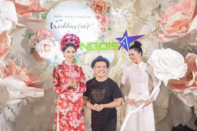 10 năm gắn bó với công việc thiết kế áo dài chuyên nghiệp, Minh Châu là cái tên nhận được sự tin yêu của các cô dâu trong và ngoài nước, những nghệ sĩ lớn. Như một cách nhìn lại cả một chặng đường và thay lời cảm ơn của mình tới những người yêu mến bộ quốc phục Việt Nam, NTK Minh Châu đã đem đến đêm gala Triển lãm cưới Ngôi Sao bộ sưu tập mang tên Cảm ơn một tình yêu. Trong đó, anh giới thiệu những phong cách thiết kế đã giúp anh tạo dấu ấn riêng trong thời trang cưới Việt.