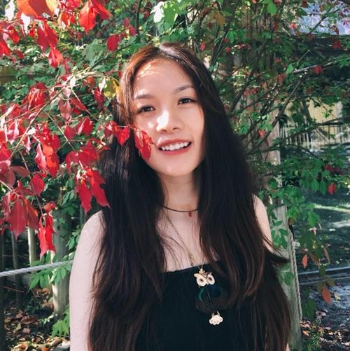 Chị Thu Trang, chủ nhân của những mâm cơm ngày nào cũng có món mới.