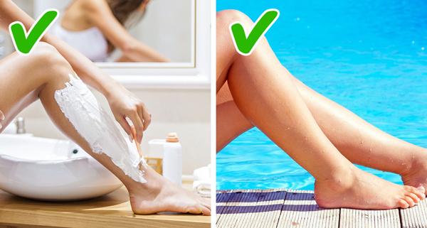 Lông chân Đa phần đàn ông đều không chú ý tới lông chân của phụ nữ nhiều như phụ nữ tưởng, trừ phi bạn có lông chân mượt như chuôi dao.