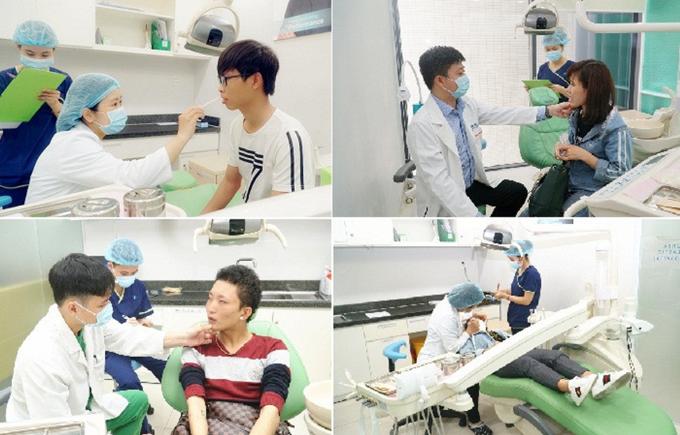 Nhiều bệnh nhân sau khi nghe tư vấn trực tiếp đã hiểu hơn về tình trạng răng hàm của bản thân.