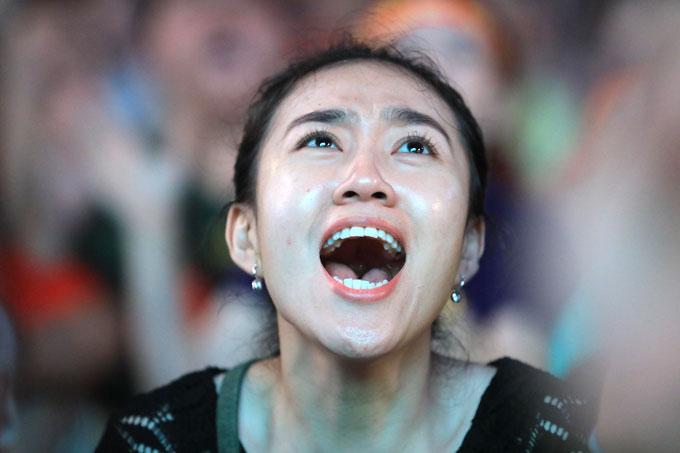 Niềm vui vỡ òa khi Văn Toàn ghi bàn ấn định chiến thắng 1-0 ở phút 108. Việt Nam đi tiếp vào bán kết, gặp đối thủ Hàn Quốc.