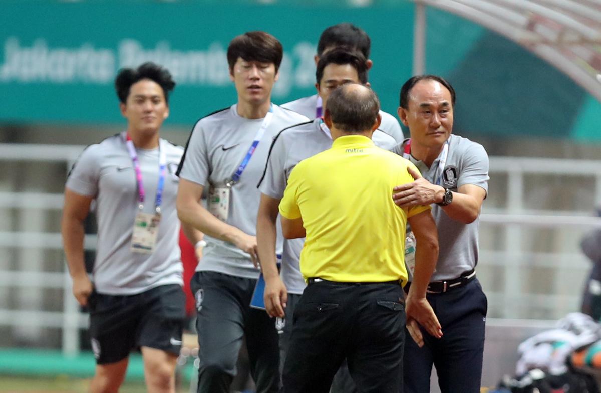 Olympic Việt Nam ngẩng cao đầu sau thất bại trước Hàn Quốc