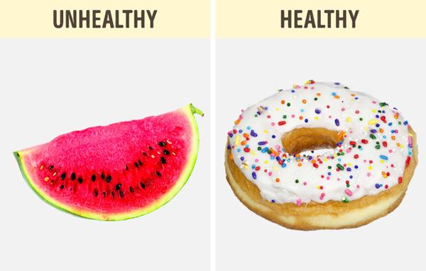 Do cơ địa khác nhau nên có người ăn bánh ngọt không béo, có người ăn dưa hấu lại tăng cân.
