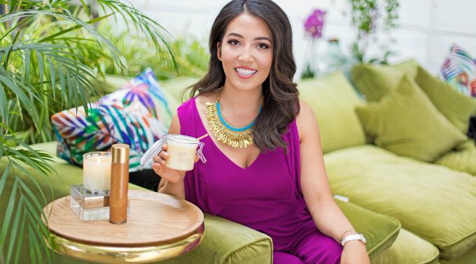 Nhân vật trong Forbes 30 Under 30 tự tạo công thức chăm sóc da riêngvà bán được gần 1.300 USD trong một ngày từ năm 15 tuổi. Ảnh:Cosmetics Business.