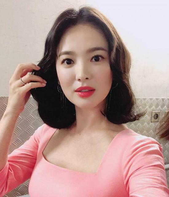 Song Hye Kyo được khen