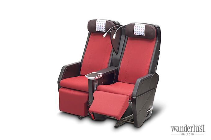 Các ghế ở hạng phổ thông cũng được thiết kế như cao cấp.