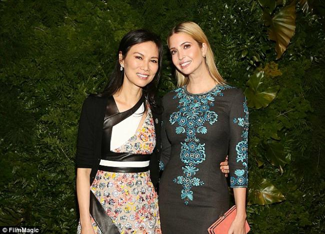 Wendi Deng có quan hệ thân thiết với gia đình Ivanka Trump.