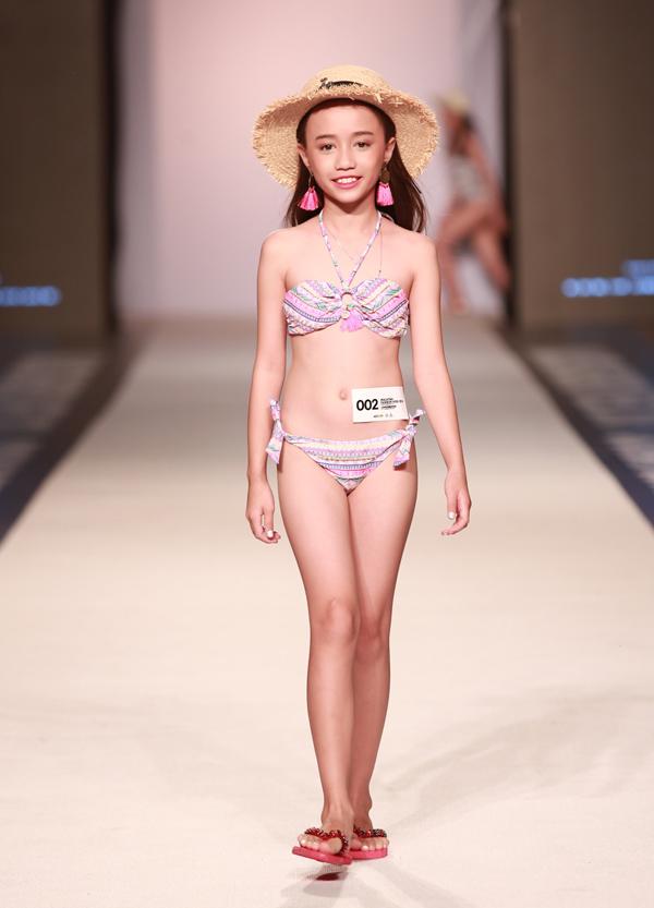 Thí sinh Nguyễn Từ Thiện Duyên trải qua các vòng thi trình diễn bikini, váy tự chọn.