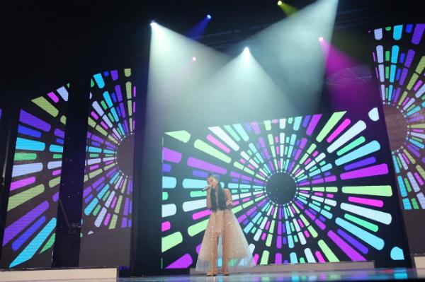 Trìnhdiễn trang phục dạ hội là phần thi cuối cùng trong đêm chung kết.