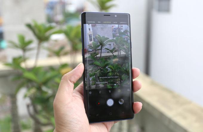 Camera trên Galaxy Note 9: Hoàn thiện hơn với trí tuệ nhân tạo