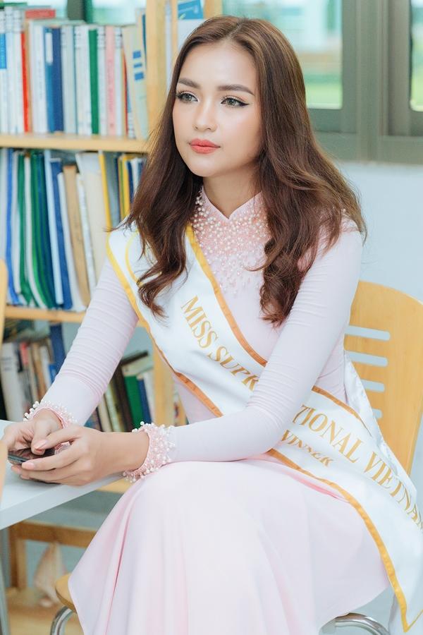 Thời gian tới, Ngọc Châu bắt đầu lịch trình tập luyện, trau dồi các kỹ năng cần thiết để chuẩn bị cho đấu trường Hoa hậu Siêu quốc gia.