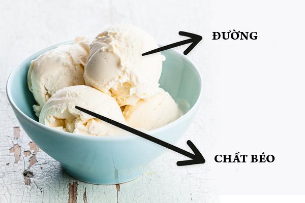 Kem Kem chứa nhiều đường và chất béo, mất nhiều thời gian để tiêu hóa nên có thể gây ảnh hưởng đến giấc ngủ. Sau bữa tối, bạn nên ăn sữa chua thay cho kem để tiêu hóa dễ dàng hơn.