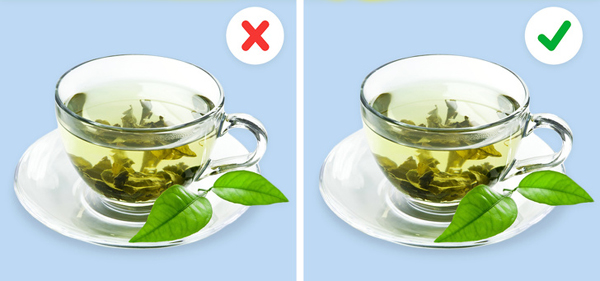 Trà xanh Trà xanh cũng chứa nhiều caffeine. Nếu là người mẫn cảm với caffeine, hay hồi hộp, lo lắng, bạn không nên uống trà xanh sau bữa tối. Nếu không có vấn đề sức khỏe gì, thức uống này có thể được sử dụng.