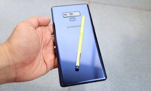 Ba điểm mới giúp S Pen 'diễn ảo thuật' trên Galaxy Note 9