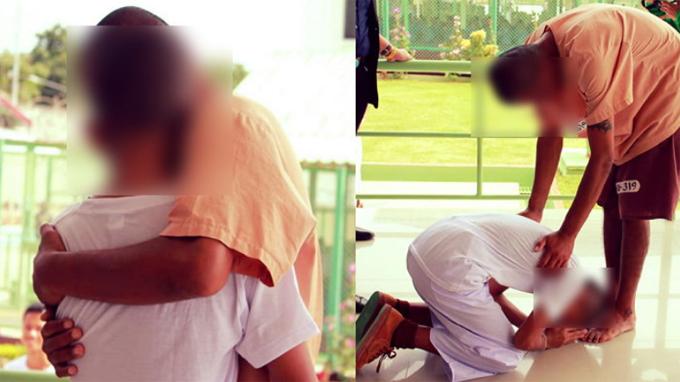 Cậu bé gặp lại bố trong tù khi đi tham quan cùng trường - ảnh 1