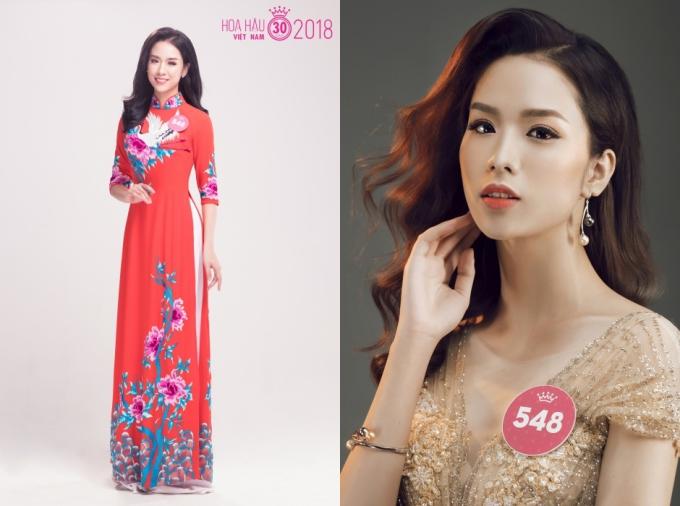 Trần Ngọc Lâm cũng là nhân tố sáng giá cho giải thưởng Gương mặt khả ái. Cô năm nay 22 tuổi, là Á khôi Học viện Báo chí và Tuyên truyền 2018.