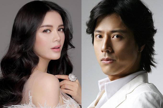Lý Nhã Kỳ có dịp đóng cặp cùng ngôi sao Hàn Quốc Han Jae Suk trên màn ảnh rộng.