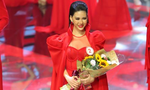 Bùi Quỳnh Hoa đoạt giải vàng Siêu mẫu VN