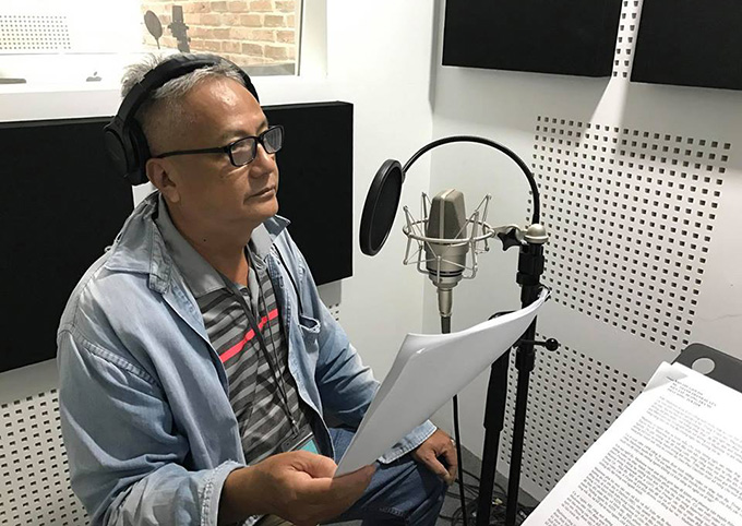 Diễn viên lồng tiếng Bá Nghị đảm nhận lồng tiếng vai ông Tuấn trong Gạo nếp gạo tẻ sau khi nghệ sĩ Nguyễn Hậu qua đời.