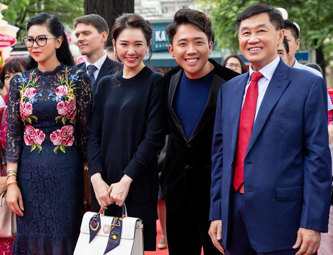 Sự kiện này còn có vợ chồng Trấn Thành - Hari Won tham dự.