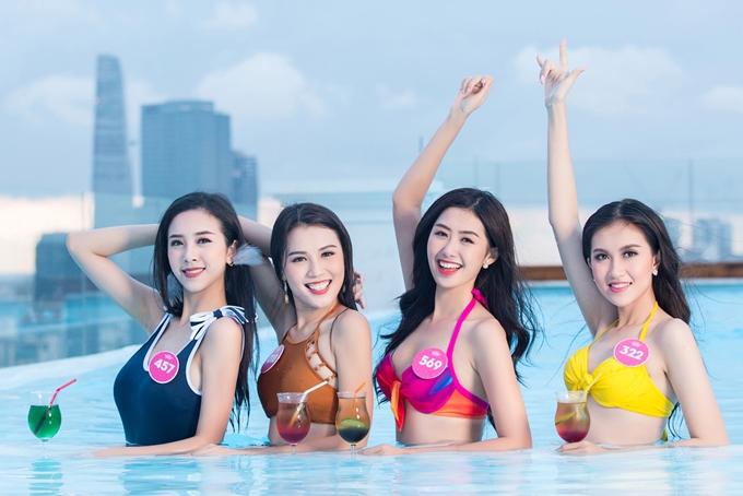Cuộc thi Hoa hậu Việt Nam bắt đầu sơ khảo từ tháng 6 vừa qua. Vòng chung kết kéo dài hơn một tháng, trải qua ba địa điểm: Hạ Long, Đà Nẵng và TP HCM.