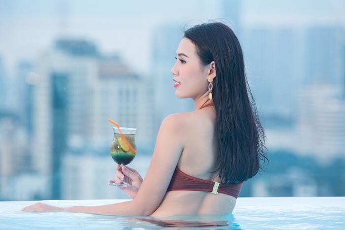Thí sinh Chu Thị Minh Trang từng có kinh nghiệm dự thi Hoa hậu Hoàn vũ Việt Nam 2017. Cô thuộc nhóm thí sinh có gương mặt khả ái.