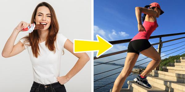 Tự đặt ra thử thách để bản thân vận động nhiều hơn Có mục tiêu hay thử thách rõ ràng sẽ giúp bạn hứng thú hơn với việc tập luyện. Bạn có thể tự thách thức mình đi cầu thang bộ khi tới công ty, mỗi ngày đi nhiều hơn một tầng hay tự phạt mình chống đẩy 20 lần mỗi tối trước khi đi ngủ.