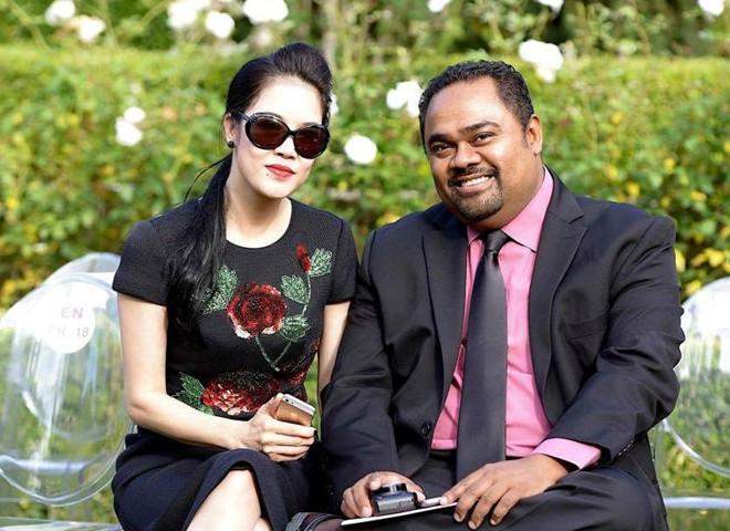 Thu Phương và Dũng Taylor đã gắn bó bên nhau 16 năm, có hai con chung nhưng vẫn chưa tổ chức đám cưới chính thức.