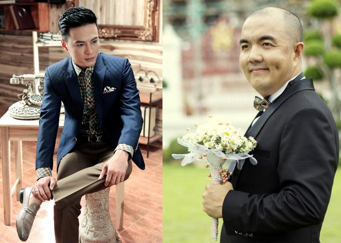 Dù bận rộn, diễn viên Hồng Đăng (trái) và Quốc Thuận (phải) vẫn tranh thủ thời gian san sẻ việc nhà cùng vợ.