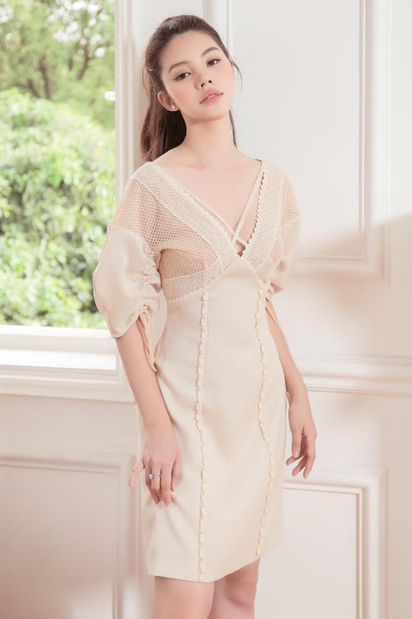 Jolie Nguyễn gợi ý trang phục thanh lịch cho cô nàng công sở - ảnh 2