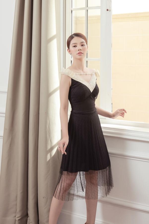 Jolie Nguyễn gợi ý trang phục thanh lịch cho cô nàng công sở - ảnh 5