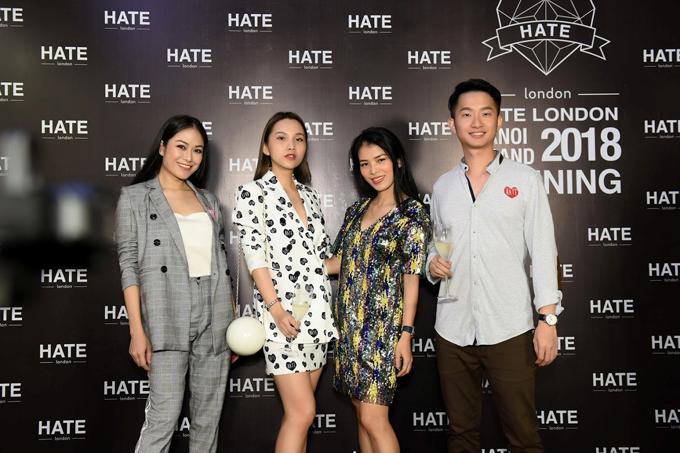Tiếng hát Sao Mai Nga Nguyễn, fashionista Thục Anh cá tính khoe sắc tại sự kiện.