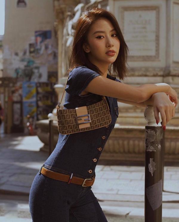 Người đẹp Việt lăng xê túi xách mini - ảnh 4