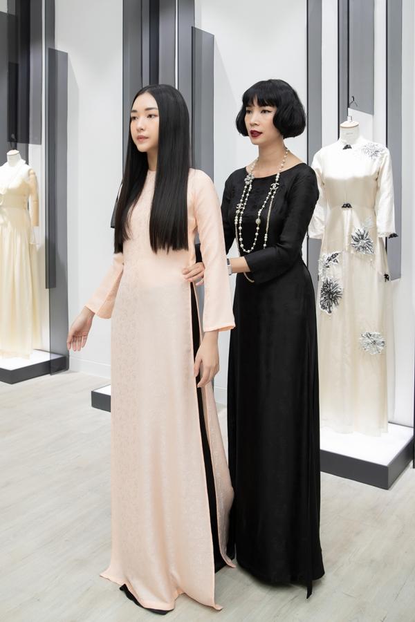 Xuân Lan cùng nàng thơ xứ Huế diện áo dài, hóa thiếu nữ Sài Gòn xưa - 1