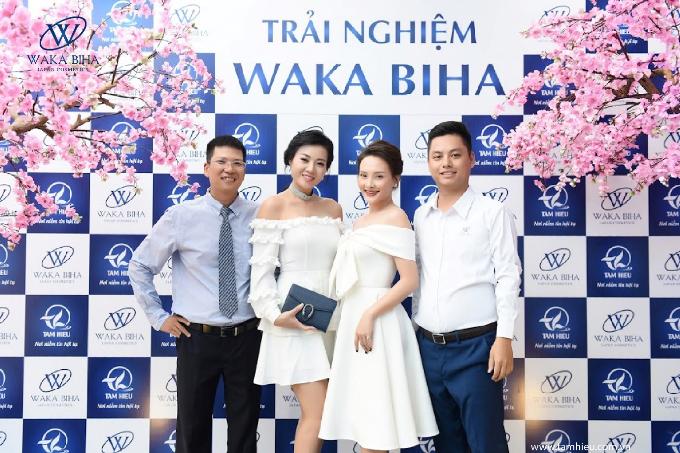 Bảo Thanh và Thanh Hương đều chia sẻ rất tin tưởng các sản phẩm mỹ phẩm đến từ Nhật Bản. Do vậy, cả hai là những khách hàng đã gắn bó với thương hiệu mỹ phẩm cao cấp Waka Biha hơn một năm qua.