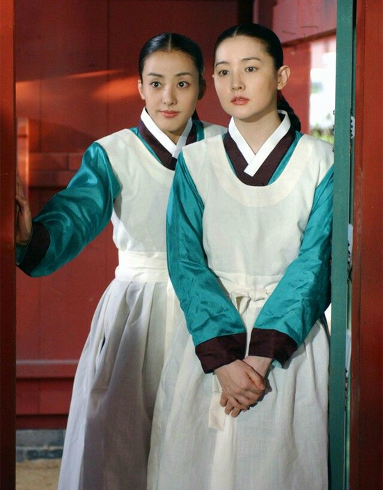 Park Eun Hye trong phim Nàng Dae Jang Geum, cô đóng vai cung nữ Yeon Saeng.