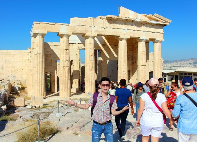 Đoan Trường mê mẩn cảnh đẹp ở Hy Lạp - ảnh 2