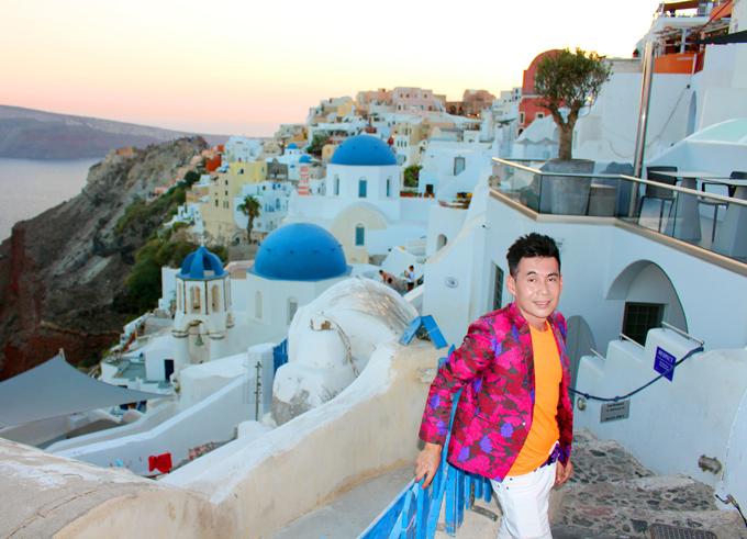 Đoan Trường mê mẩn cảnh đẹp ở Hy Lạp - ảnh 3