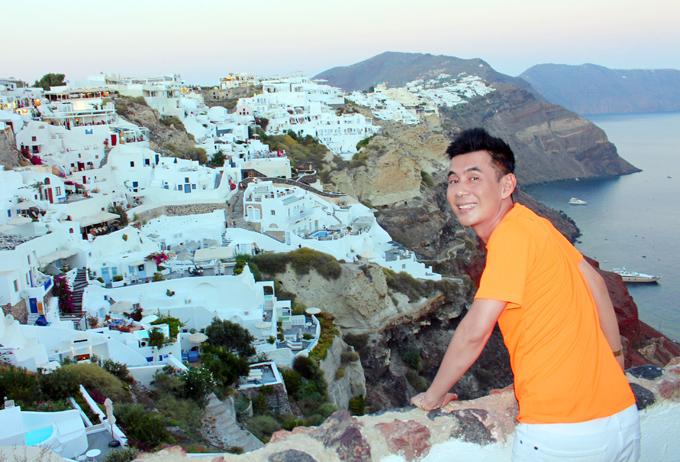 Đoan Trường mê mẩn cảnh đẹp ở Hy Lạp - ảnh 5